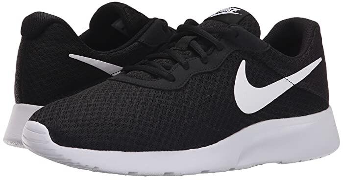 Nike Tanjun (Black/White) Men's Running