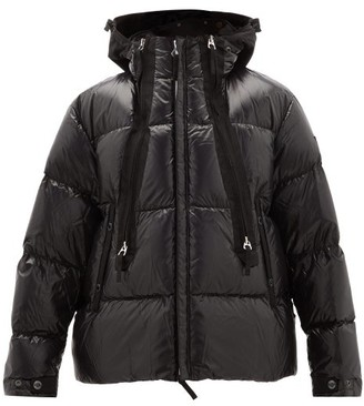 Burberry Quilted-down Shell Hooded Jacket - Mens - Black