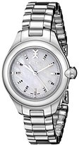 Ebel Women's 1216173 Onde Stainless Steel Watch with Diamond-Accented Crown