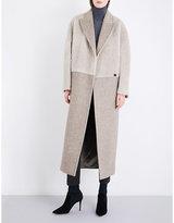 Max Mara Ladies Beige Pietre Wool And Alpaca-Blend Coat