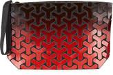 Patrizia Luca Ombre Geometric Y Tiled Clutch Bag