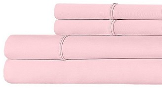 Ella Jayne Luxe Crisp Cool 300-Thread Count Cotton Percale 4-Piece Bedding Set