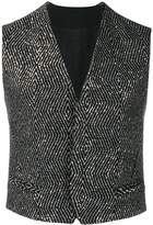 Haider Ackermann sequined waistcoat