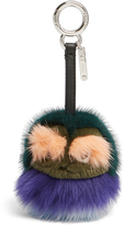 Fendi Kid Bag Bugs fur bag charm