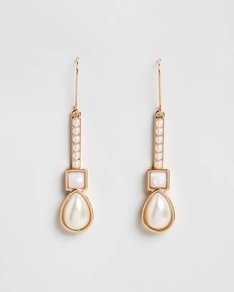 Peter Lang Luster Pearl Earrings