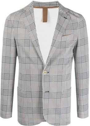 Eleventy Prince of Wales check blazer