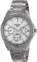 Pulsar 3-Hand Multifunction with Swarovski® Crystals Women's watch #PP6049