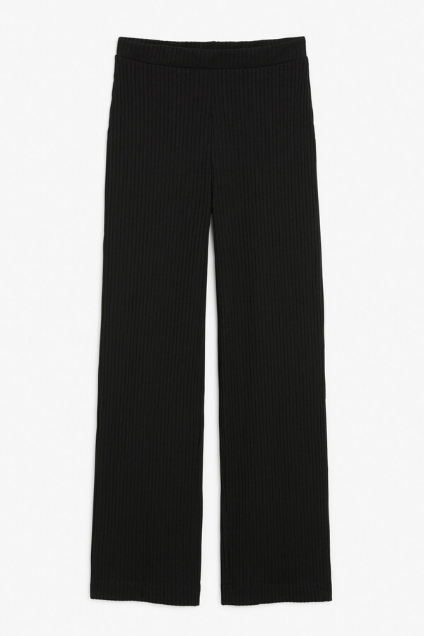 Thumbnail for your product : Monki Ribbed trousers