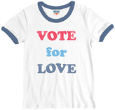 Junk Food Clothing Vote for Love Tee
