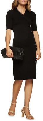 Oxford Mira Button Details Dress