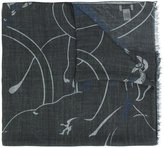 Valentino printed scarf - men - Silk/Modal/Cashmere - One Size