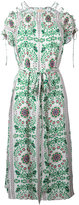 Tory Burch floral print dress - women - Silk/Polyester - 4