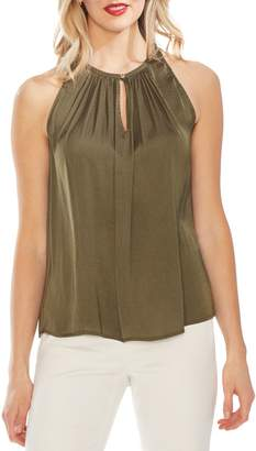Vince Camuto Pleated Halter Top