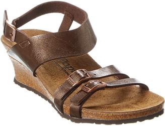 Birkenstock Ellen Birko-Flor Wedge Sandal