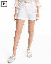 White House Black Market Petite 4 1/2-inch Coastal Stretch Shorts