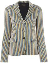 Odeeh striped blazer - women - Cotton/Polyester/Viscose - 36