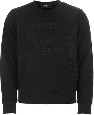 Fendi Long-Sleeved Crewneck Sweatshirt