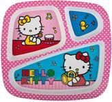 Hello Kitty Zak! Designs Divided Kid's Dinner Plate
