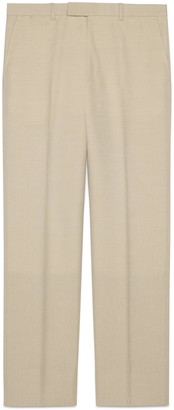 Gucci Wool mohair trousers