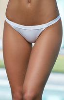 La Hearts Ribbed Cheeky Bikini Bottom