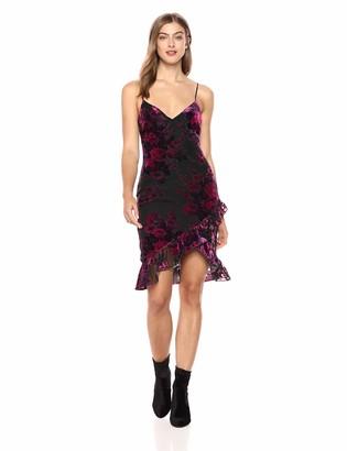 LIKELY Women's Shana Velvet Burnout Cocktail Dress