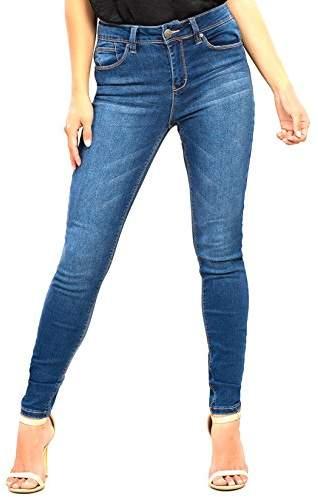 YMI Jeanswear Women's Hyperflex 4-Way Stretch High Rise Skinny