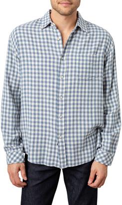 Rails Men's Brushed Lennox Gingham Sport Shirt