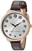 Marc Jacobs Women's Betty Oxblood Leather Watch - MJ1478