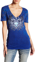 Affliction Lovely Pistols V-Neck Tee