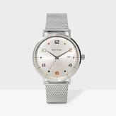Paul Smith Men's Silver 'Gauge Colour' Watch