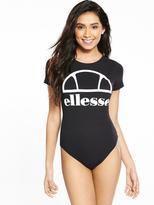 Ellesse Triva Cap Sleeve Bodysuit - Black