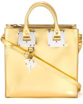 Sophie Hulme metallic tote - women - Leather - One Size