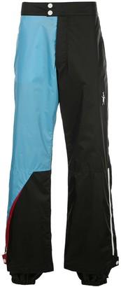 Marni colour block trousers