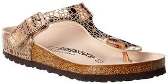 Birkenstock Women's Gizeh Leather Sandal