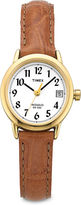 Timex Easy Reader Womens Gold-Tone Watch