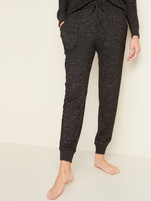Old Navy Mid-Rise Plush-Knit Jogger Pajamas for Women