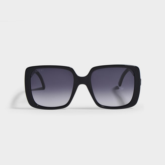 Gucci Sunglasses In Black Injection Gg0632S