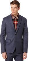 Perry Ellis Very Slim Wool Flannel Suit Jacket