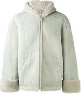 Yeezy season 4 short shearling jacket