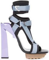 Versace t-bar platform sandals