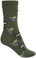 B.ella Juliet Wine & Grapes Socks - Merino Wool, Crew (For Women)