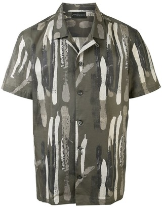 Emporio Armani Abstract Print Shirt
