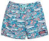 Vineyard Vines Little Boy's & Boy's Bonefish Drawstring Swim Shorts - Strawberry, Size xl (18-20)