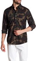 Jack Spade Palmer Camo Print Shirt