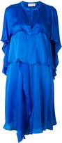 Christian Wijnants tiered frill dress - women - Silk - 36