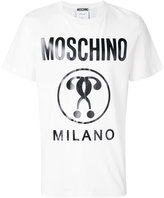 Moschino logo front t-shirt - men - Cotton - 44