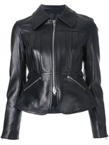 Alexander Wang Peplum Leather Jacket