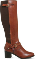 Office Kennedy leather knee-high boots