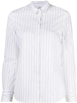 Peserico Striped Button-Down Shirt