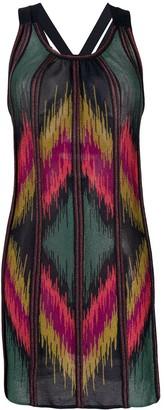 Missoni Diamond-Knit Mini Dress
